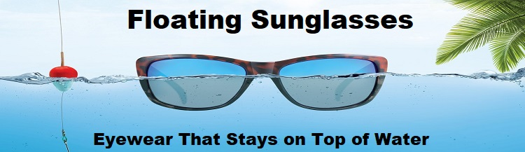 floating sunglasses banner bikers eyewear