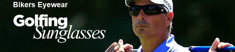 golfing sunglasses bikers eyewear banner