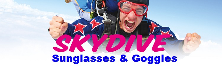 skydiving eyewear sunglasses goggles banner bikers eyewear