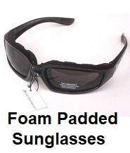 foam padded glasses