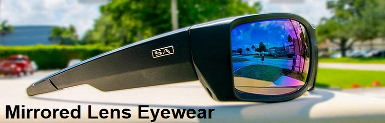 mirrored lens goggles bikers eyewear banner