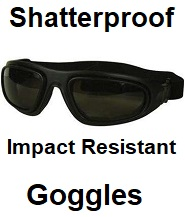 shatterproof goggles