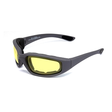 Maxx SS1 Foam Sunglasses Yellow Lenses