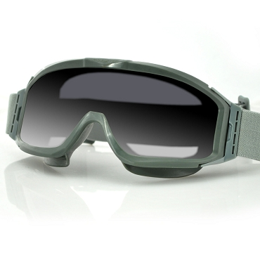 Alpha Green Ballistics Goggles Interchangeable Lenses