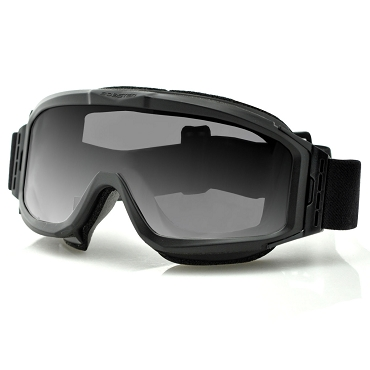 Alpha Black Ballistics Goggles Interchangeable Lenses