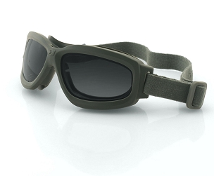 Bravo 2 Green Ballistics Goggles Interchangeable Lenses