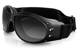Bobster Cruiser Goggles Smoke Mirror Lenses