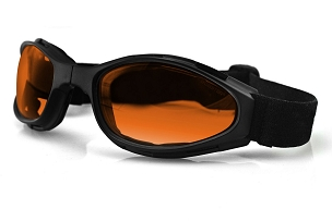 Bobster Crossfire Foldable Goggles Amber Lenses