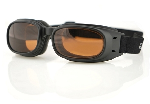 Bobster Piston Goggles Amber Lenses