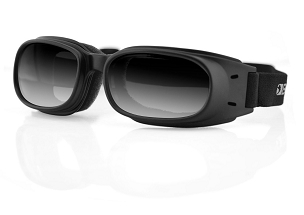 Bobster Piston Goggles Smoke Mirror Lenses