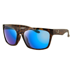 Bobster Sunglasses Tortoise Frame Light Blue Mirror Lenses