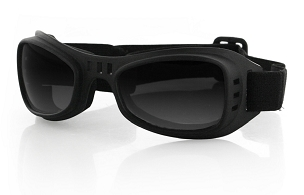 Bobster Road Runner Goggles Smoke Lenses