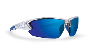 Epoch 4 Blue Mirror High Clarity Sunglasses