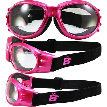Eagle Sport Enthusiasts Pink Goggles Clear Lenses