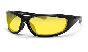 Bobster Charger Sunglasses Yellow Lenses