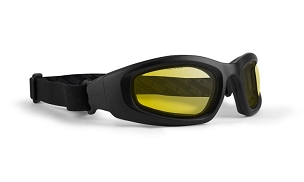 Epoch Goggle Black ANSI Goggles Yellow Lenses
