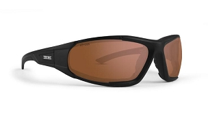 Epoch Foam 2 Black Sunglasses Amber Lenses