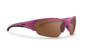 Epoch 2 Women's Sunglasses Pink Frame Amber Lenses