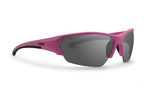 Epoch 2 Women's Sunglasses Pink Frame Smoke Lenses