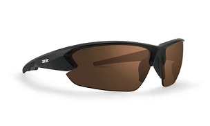 Epoch 4 Sunglasses Black Frame Brown Lenses
