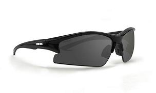 Epoch Brodie Sunglasses Black Frame Smoke Lenses