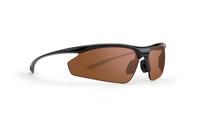 Epoch 6 Amber Lens Sunglasses Black Frame