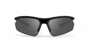 Epoch 6 Smoke Lens Sunglasses Black Frame