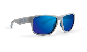 Epoch Charlie Blue Polarized Sunglasses Gray Frame