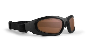 Epoch Goggle Black ANSI Goggles Amber Lenses