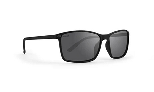 Murphy Black Sunglasses Polarized Smoke Lenses