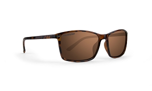 Epoch 11 Brown Lens Polarized Sunglasses Tortoise Frame