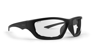 Epoch Foam 3 Black Sunglasses Clear Lenses