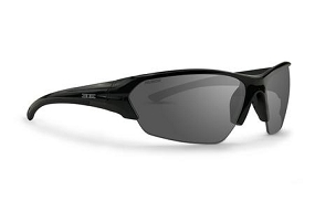 Epoch 2 Sunglasses Black Frame Polarized Smoke Lenses
