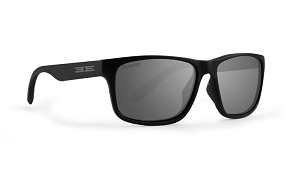 Epoch Delta Smoke Polarized Sunglasses Black Frame
