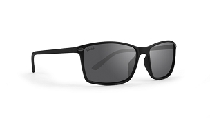 Epoch 11 Smoke Lens Sunglasses Black Frame