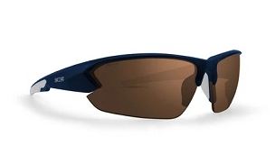 Epoch 4 Sunglasses Navy Frame Brown Lenses