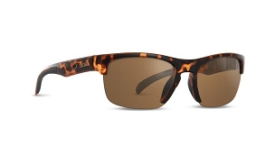 Epoch Victor Tortoise Sunglasses Brown Lenses