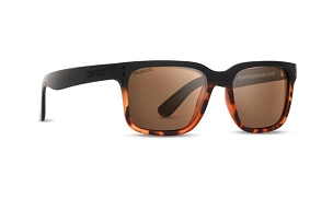 Epoch Romeo Tortoise Sunglasses Polarized Brown Lenses