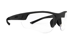 Epoch Grunt Tactical Sunglasses Black Frame Clear Lens