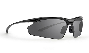 Epoch 6 Smoke Polarized Sunglasses Black Frame