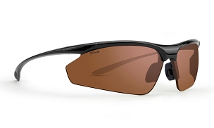 Epoch 6 Amber Polarized Sunglasses Black Frame