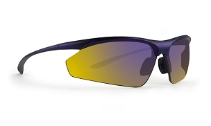 Epoch 6 Purple Mirror Lens Sunglasses