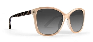 Ladies Elizabeth Sunglasses Smoke Polarized Gradient Lens