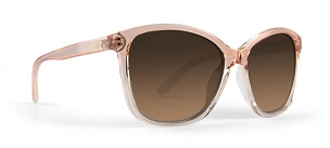 Ladies Elizabeth Sunglasses Polarized Brown Gradient Lens