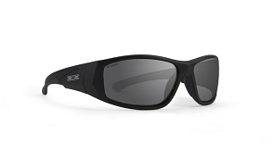 Epoch Salerno Black Sunglasses Polarized Smoke Lenses
