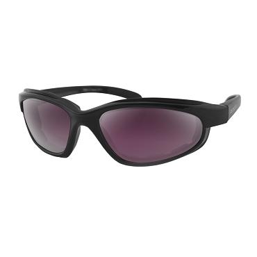 Bobster Fat Boy Sunglasses Purple Revo Mirror Lenses