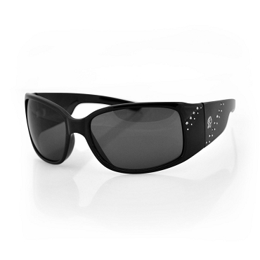 Women's Sunglasses Black Frame Smoke Lens