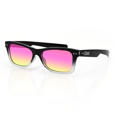 Sunglasses Gradient Smoke Purple Mirror Lens