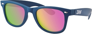 Winna Blue Sunglasses Smoked Purple Mirror Lens