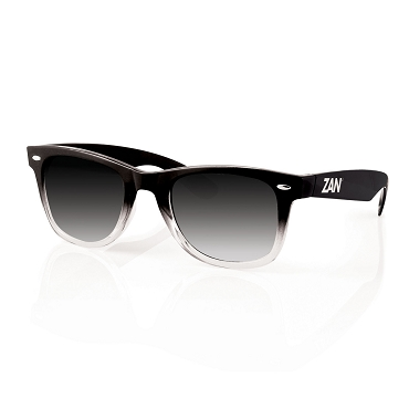 Winna Black Gradient Smoked Lens Sunglasses